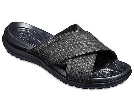 Crocs Capri Shimmer Sandales UpioDG