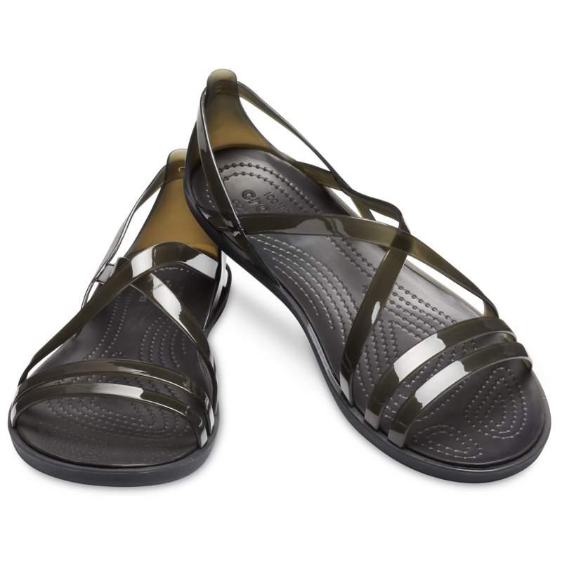 【クロックス公式】 クロックス イザベラ ストラッピー サンダル ウィメン Women's Crocs Isabella Strappy Sandal ウィメンズ、レディース、女性用 ブラック/黒 21cm,22cm,23cm,24cm,25cm sandal サンダル