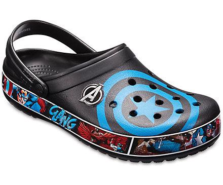 Crocband™ Captain America Clogs