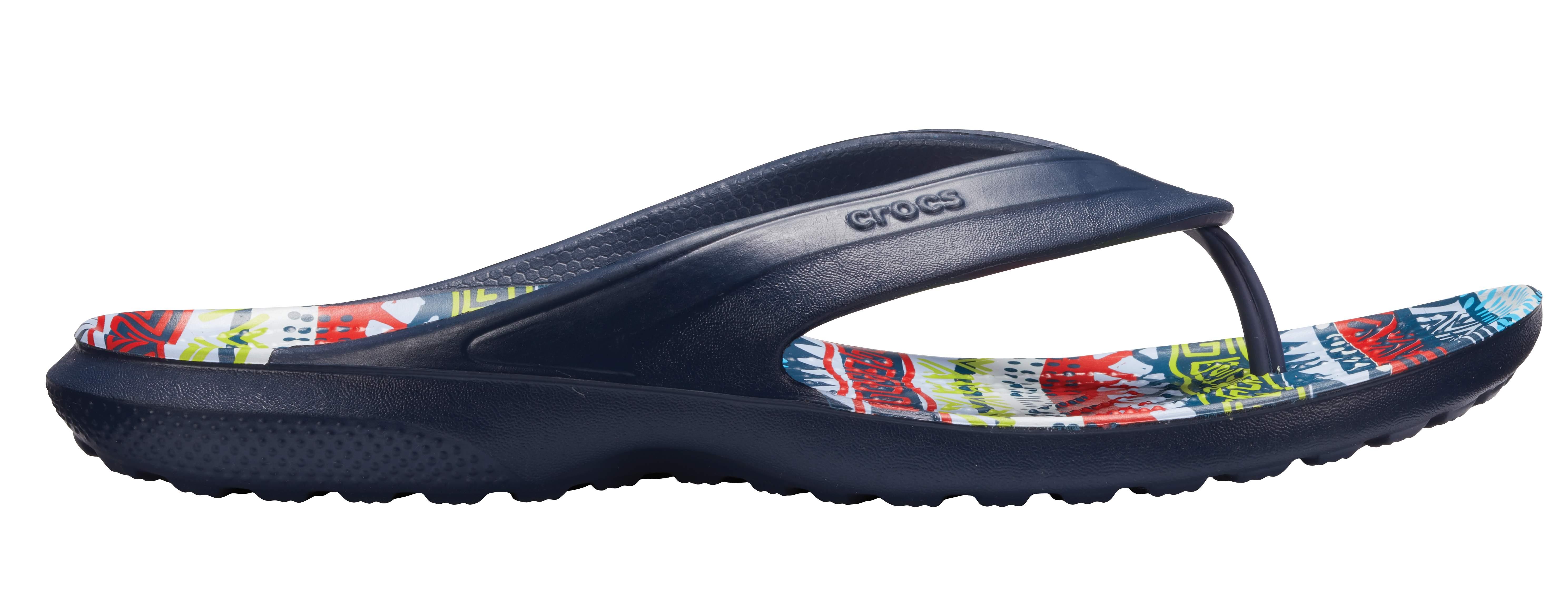 Classic Graphic Flip Crocs