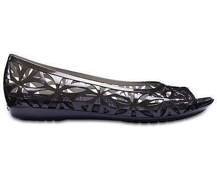 e88c0b783ba478 Women s Crocs Isabella Jelly II Flats - Crocs