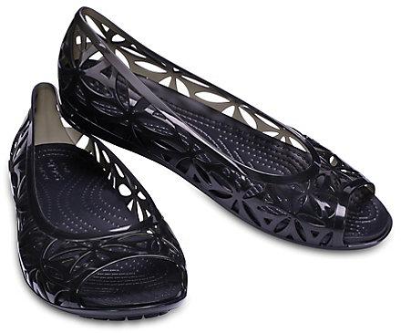 3e36f74a67ed Women s Crocs Isabella Jelly II Flats - Crocs
