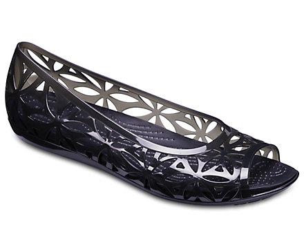 9b3456d43b Women's Crocs Isabella Jelly II Flats - Crocs