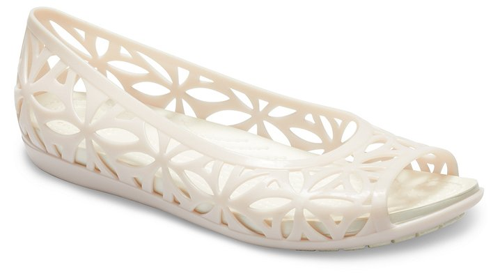 6065b8e5c9d2 Details about Crocs Womens Isabella Jelly II Flats
