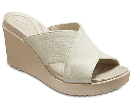 bb35c85669a Women s Leigh II Cross-Strap Wedge - Crocs
