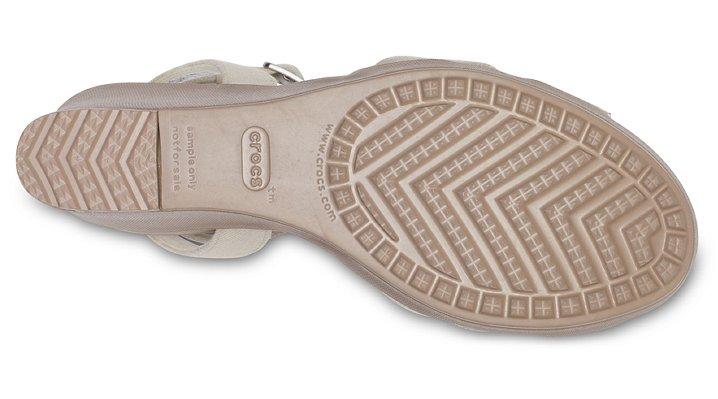 Crocs-Womens-Leigh-II-Cross-Strap-Ankle-Wedge thumbnail 23