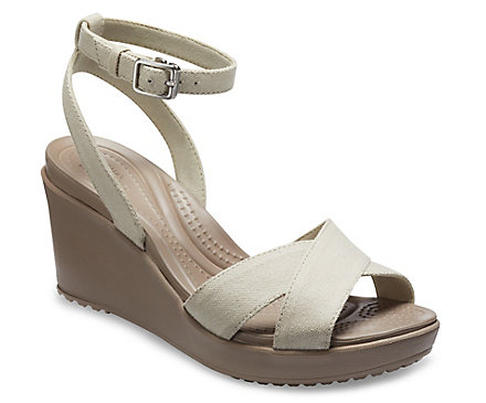 Women's Leigh II Cross-Strap Ankle Wedge
