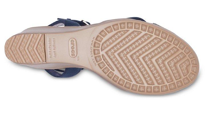 Crocs-Womens-Leigh-II-Cross-Strap-Ankle-Wedge thumbnail 17