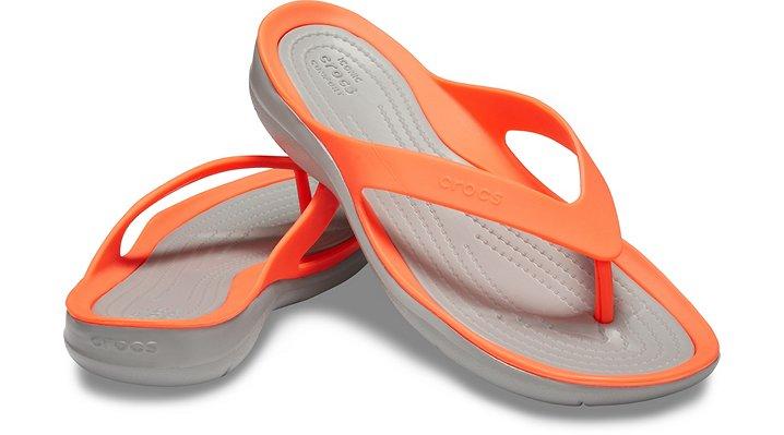 Crocs-Women-039-s-Swiftwater-Flip-Flops-Ladies-Choose-size-color thumbnail 24