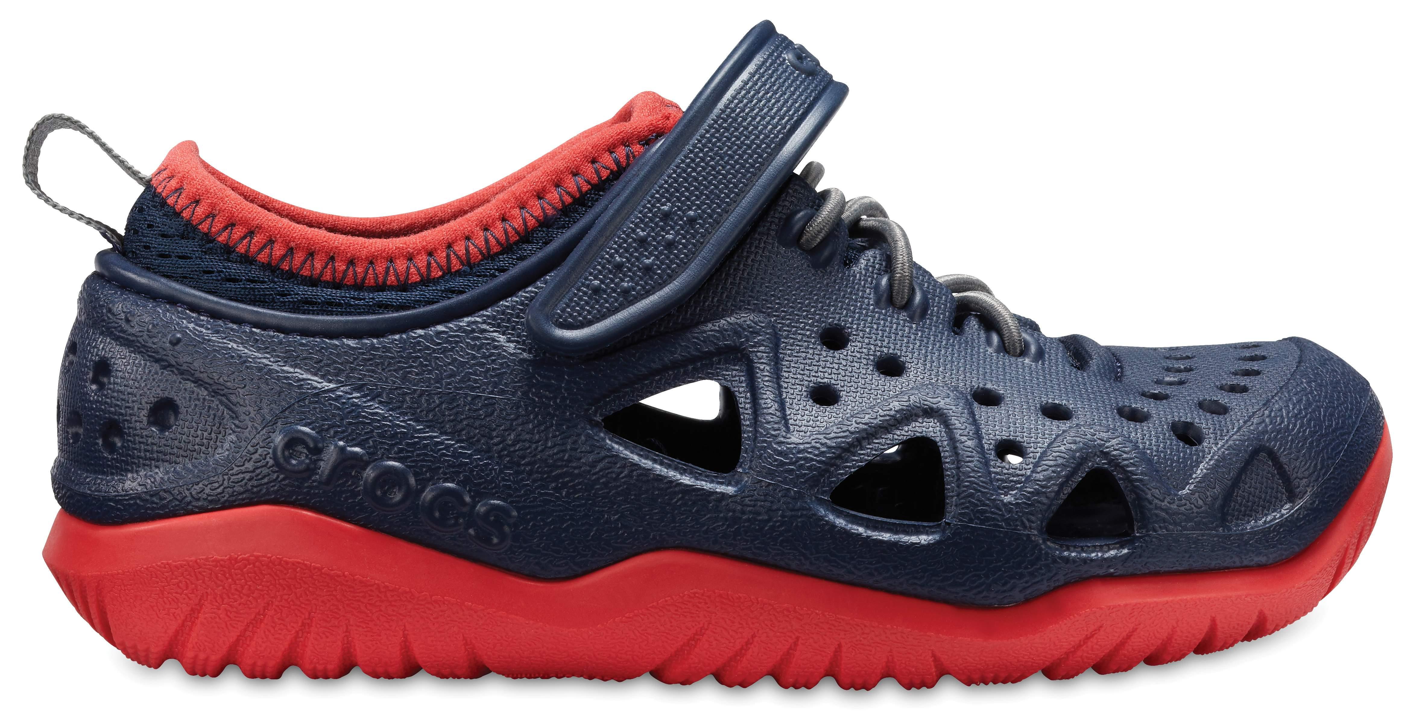Crocs Swiftwater Play Sneaker Juniors(Children's) -Slate Grey
