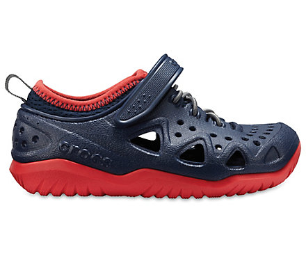 Cheap Sale Recommend Discount Reliable Crocs Swiftwater Play Sneaker Juniors(Children's) -Slate Grey Cheap Comfortable Clearance Cheap ah2Pn