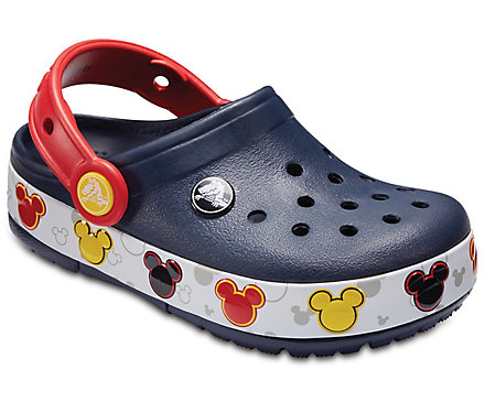 Crocband Mickey FnLb Lights Clog