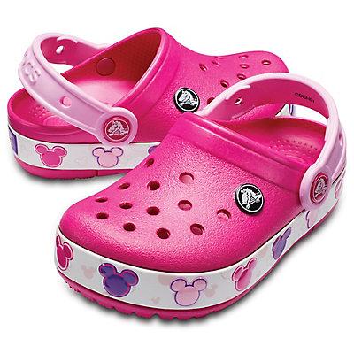 29200f92 Crocs Kids' Crocband Mickey Mouse Fun Lab Lights Clog Red 204994-6X0