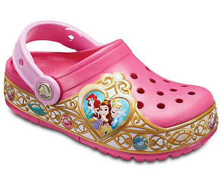 Kids' Crocband™ Disney Princess Lights Clog