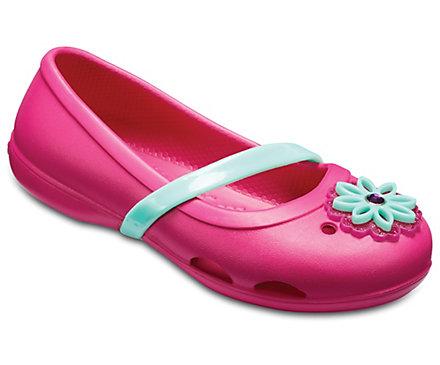 Kids' Crocs Lina Charm Flat