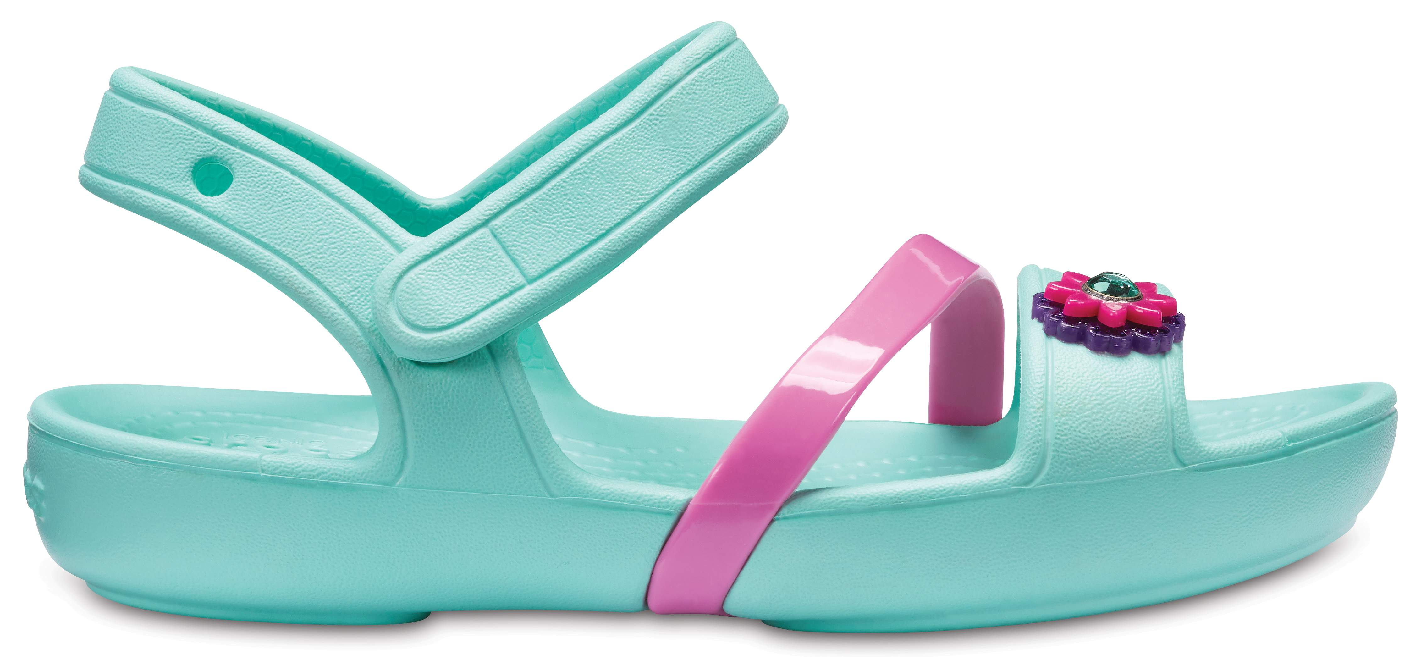 Sandalen CROCS - Lina Sandal Kids 205043 Party Pink