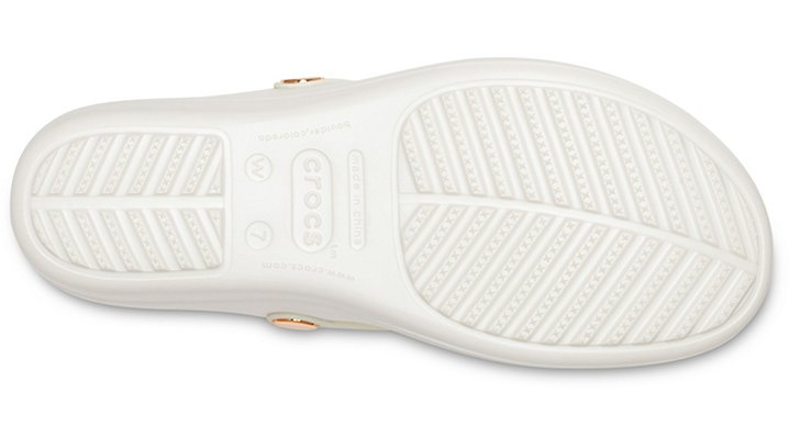 Crocs-Womens-Sanrah-Embellished-Diamante-Wedge-Flips thumbnail 23