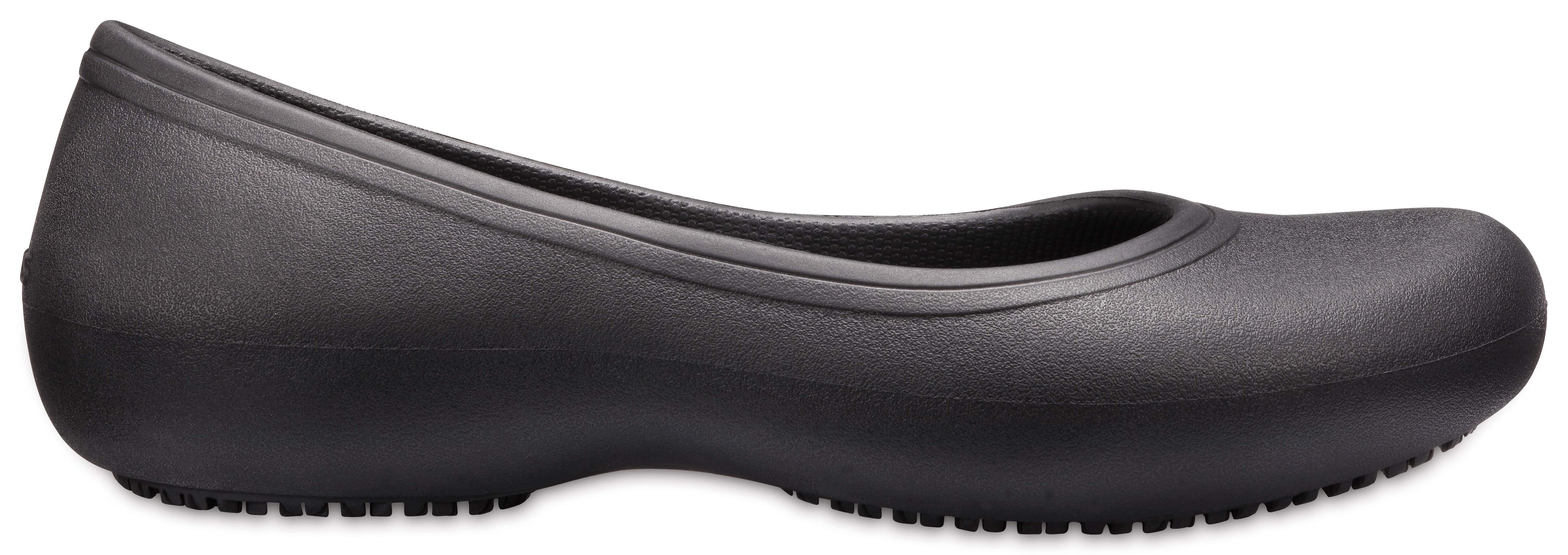 Crocs Cap Toe Flat Casual Soft Comfort Work Shoes Flats Womens Size 3-9 UK