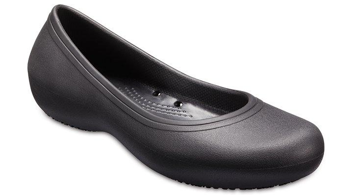 02d7f2ca024e9d Crocs Womens At Work Flat