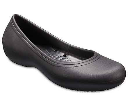 99bedb19d0 Women's Crocs At Work Flat - Crocs