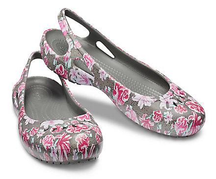 6875ac2c330605 Women s Kadee Graphic Slingback - Flat - Crocs