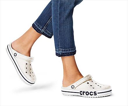 crocs Crocband Ice Blau Weiß Croslite Normal