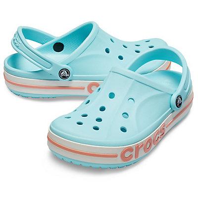 Image of Crocs Bayaband Clog Ice Blue / Melon 205089-4JF