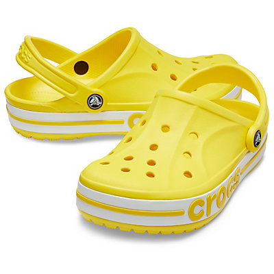 Image of Crocs Bayaband Clog Lemon/White 205089-7B0