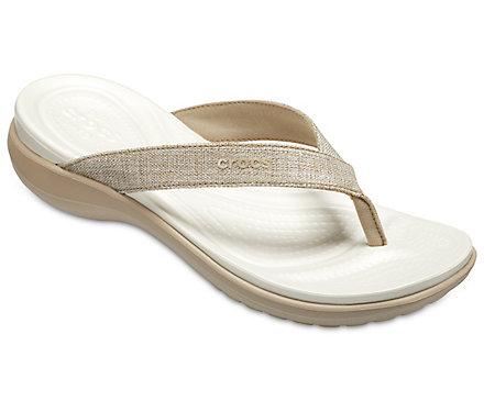 Women's Capri V Shimmer Flips