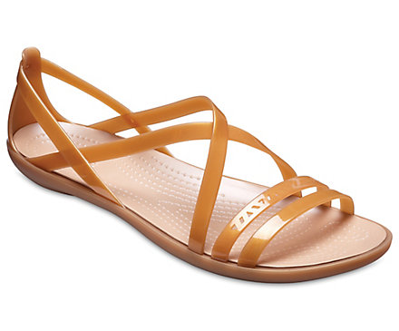 c5866bd9d34 Women s Crocs Isabella Cut-Out Strappy Sandal - Crocs