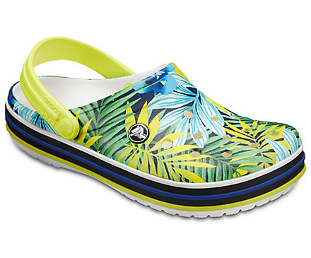 Crocs Crocband Tropical Graphic V Clog