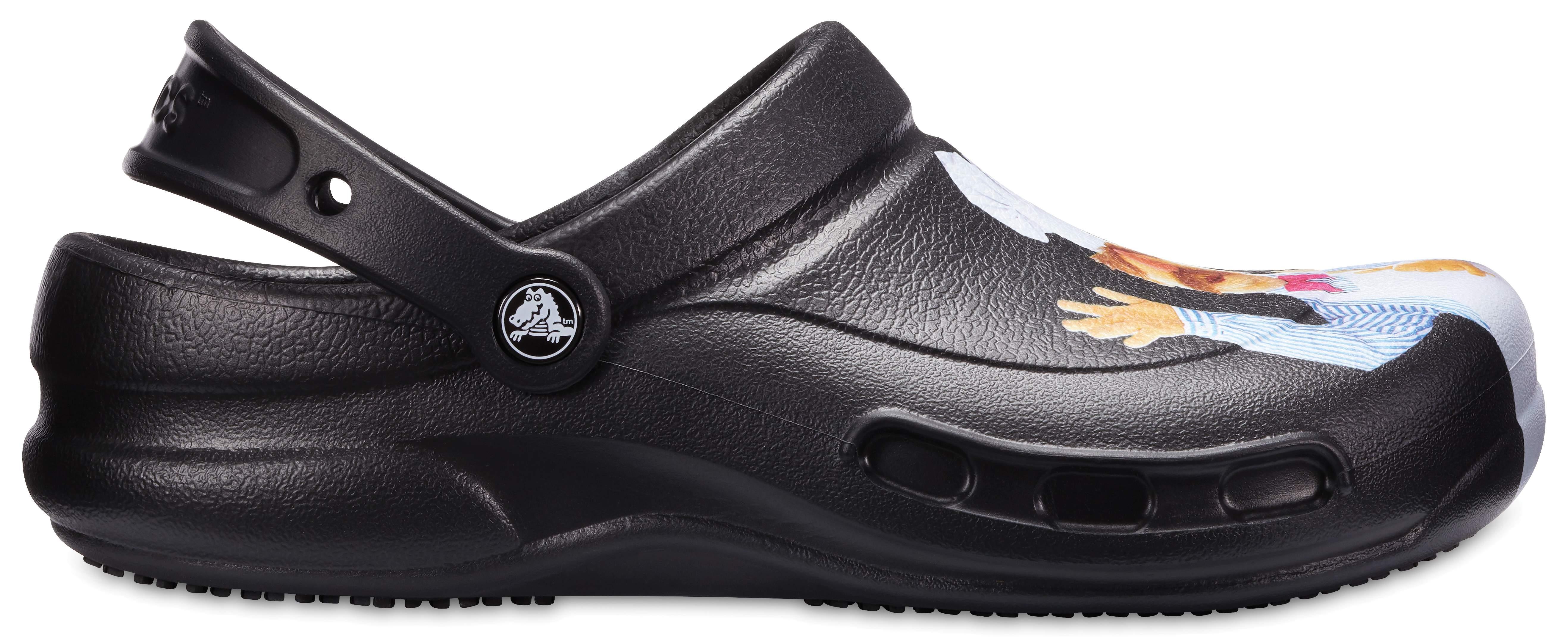 Crocs Navy Bistro Clogs 44
