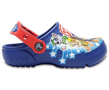 4769248e2 Boys  Crocs Fun Lab Paw Patrol Clogs - Crocs
