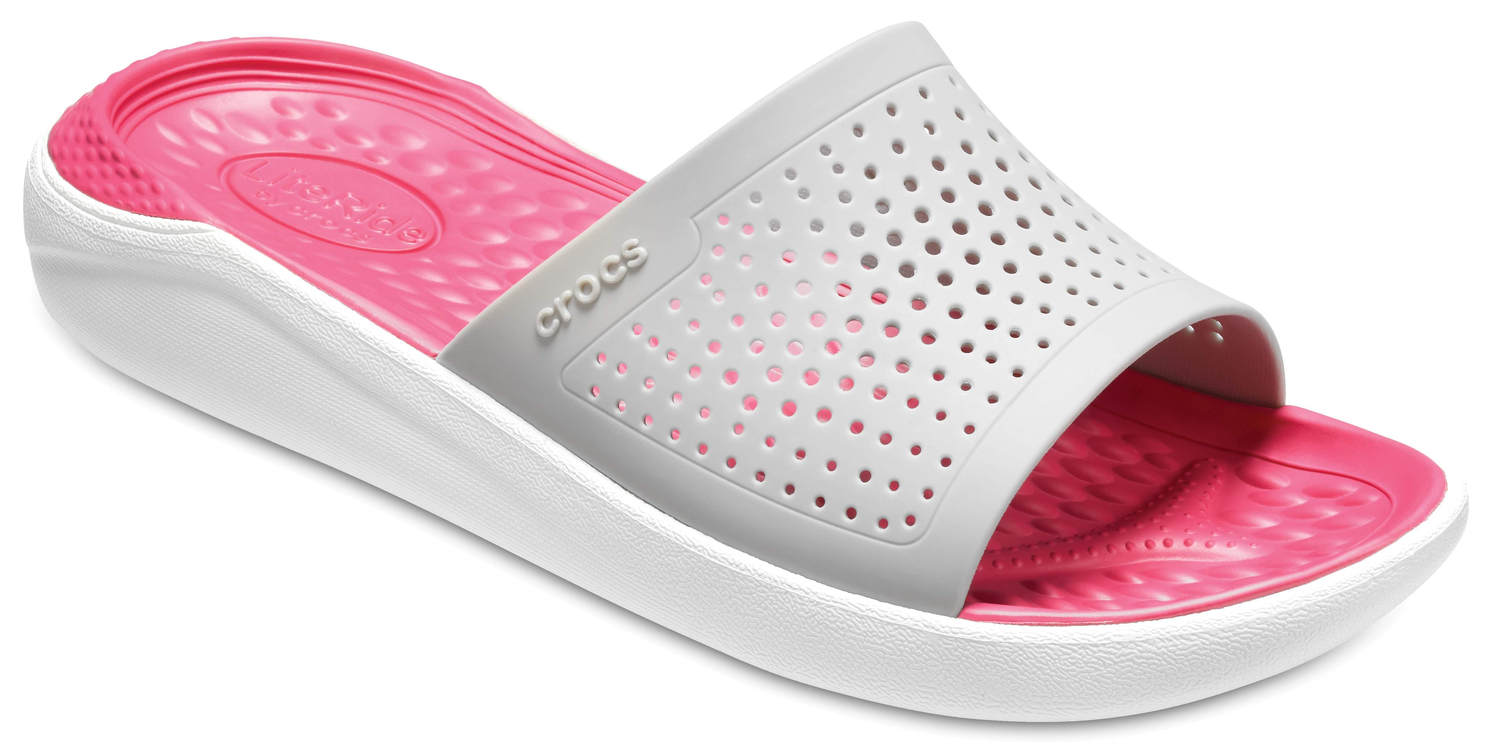 LITERIDE GRAPHIC FLIP - Pool shoes - light grey