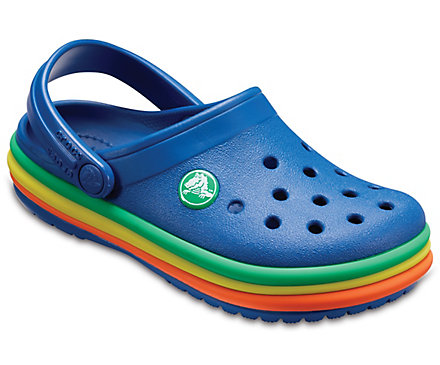 ec736b9bb7 Kids' Crocband™ Rainbow Band Clog - Crocs