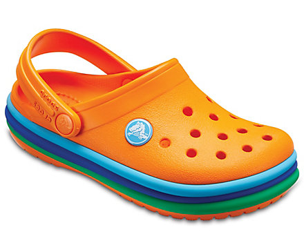 705895d23a79da Kids  Crocband™ Rainbow Band Clog - Crocs