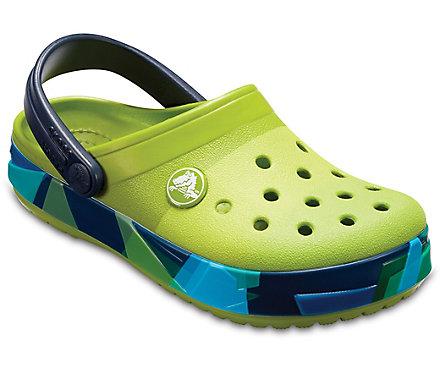 Kids' Crocband™ Prismatic Clog