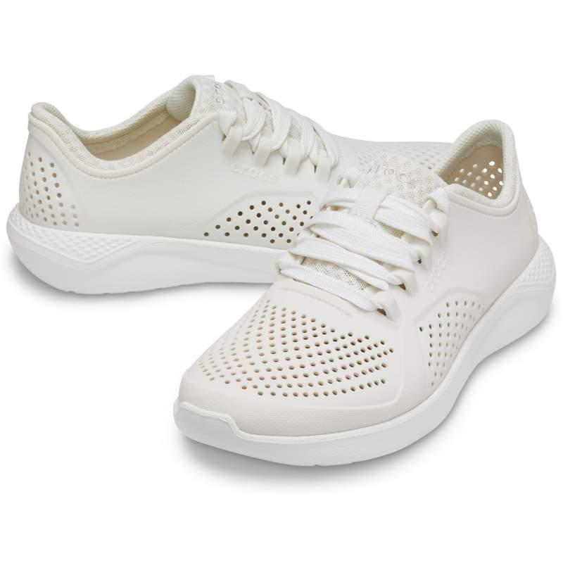[クロックス公式] 靴 ライトライド ペイサー ウィメン レディース、ウィメンズ、女性用 ホワイト/白 25cm Women's LiteRide Pacer