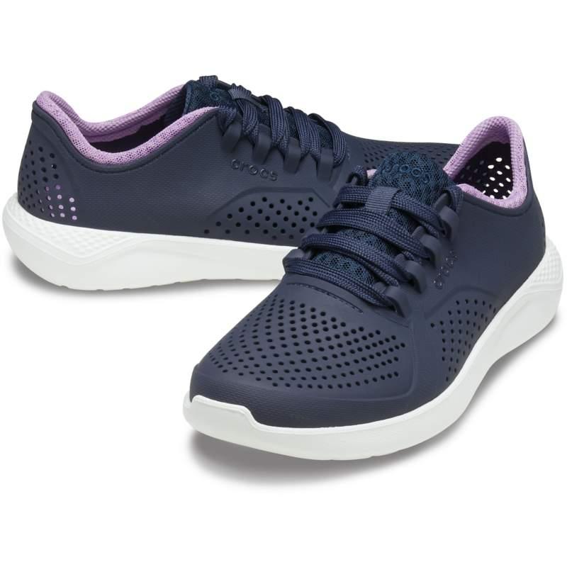 [クロックス公式] 靴 ライトライド ペイサー ウィメン レディース、ウィメンズ、女性用 ブルー/青 23cm Women's LiteRide Pacer 26%OFF セール アウトレット