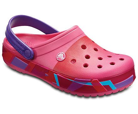 Crocband Prismatic Clog