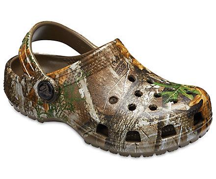 8c77e265727b57 Kids  Classic Realtree Edge® Clog - Crocs