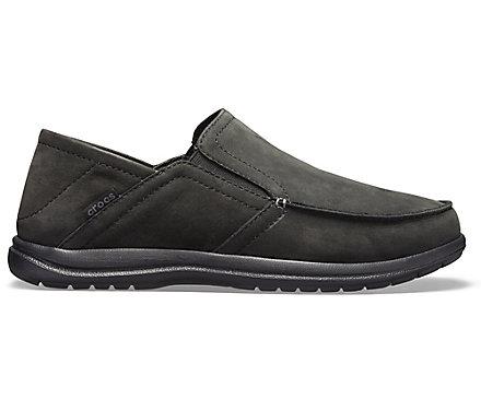 943d44622e9 Men's Santa Cruz Convertible Leather Slip-On - Crocs