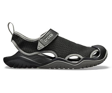 1a23545ca145 Men s Swiftwater Mesh Deck Sandal - Crocs