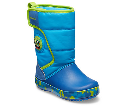 Kids' Crocs Fun Lab Monster Lights Boot