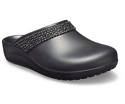 b4708fdb382fd Zueco Crocs Sloane Diamante para mujer - Crocs