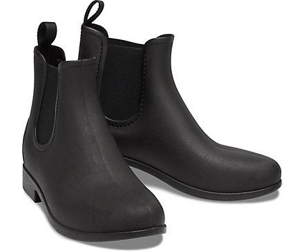 Women S Leigh Chelsea Rain Boot Crocs