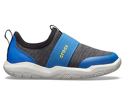 04f4c9c33d1f Kids  Swiftwater™ Easy-On Heathered Shoe - Crocs