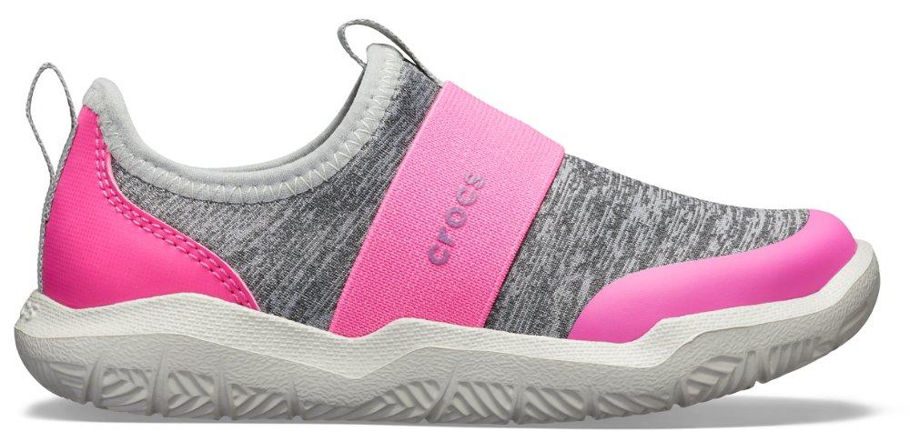 e2c9689edeb4 Crocs Kids  Swiftwater™ Easy-On Heathered Shoe Children Girls Boys ...