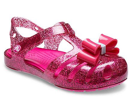30cbb6256a Kids' Crocs Isabella Bow Embellished Sandal - Crocs