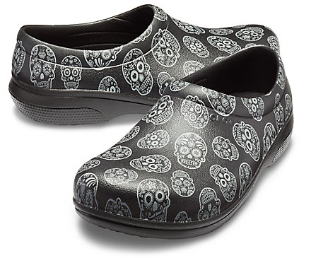 d2be3c9a11cdf On The Clock Work Graphic Slip-On - Shoe - Crocs